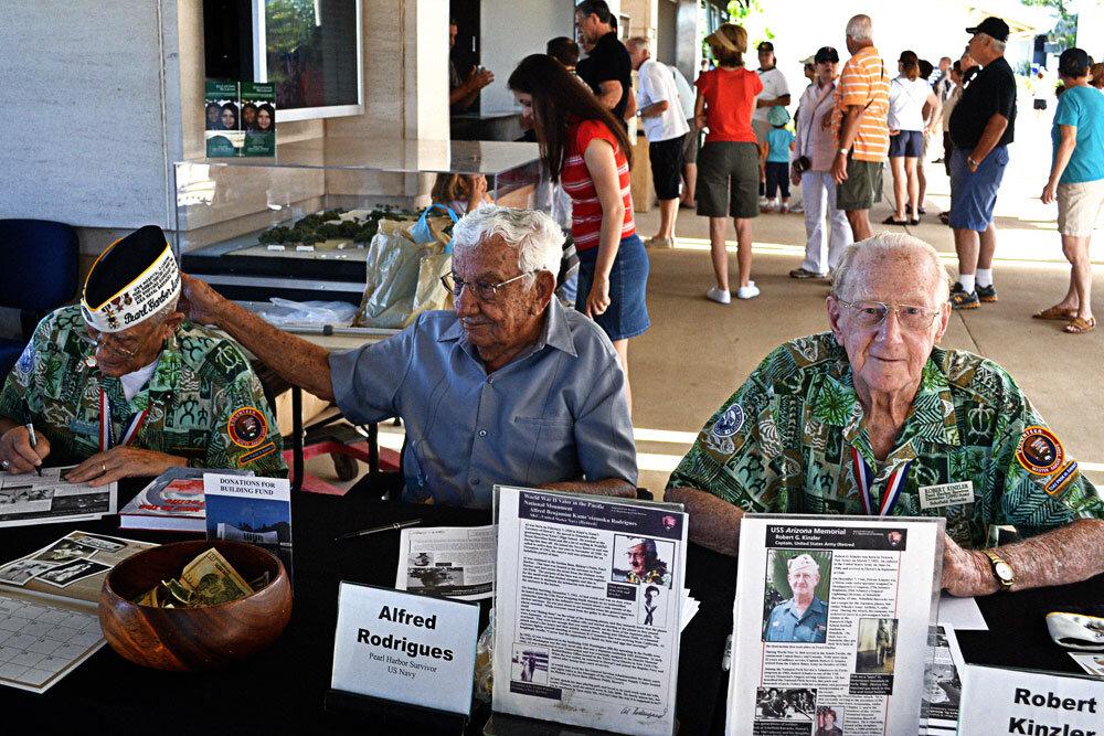 Sobreviventes do ataque a Pearl Harbor
