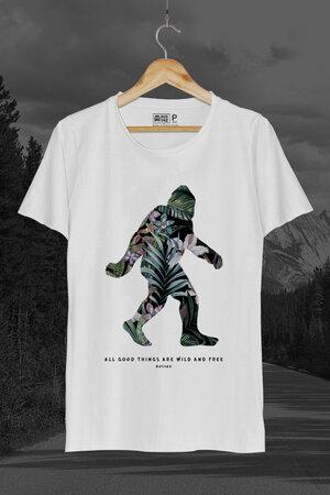 T-Shirt | Tropical Sasquatch