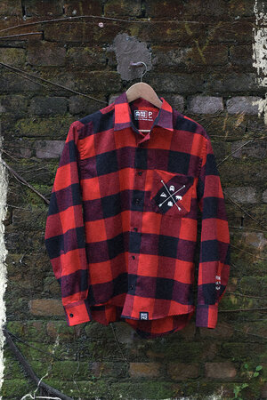 Camisa de Flanela | Supertramp | Red