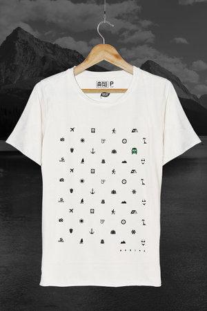 T-Shirt | Travel Icons