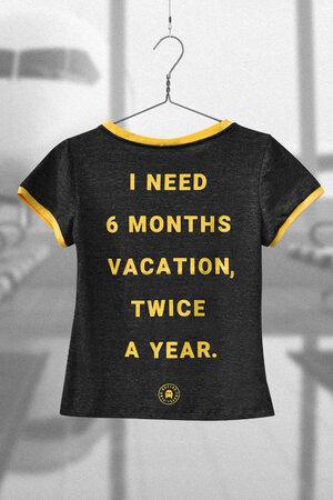 Tee | Vacation | Edição Limitada