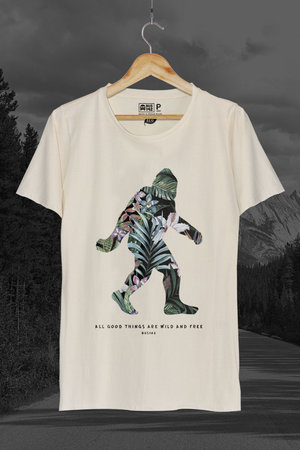 T-Shirt | Tropical Sasquatch