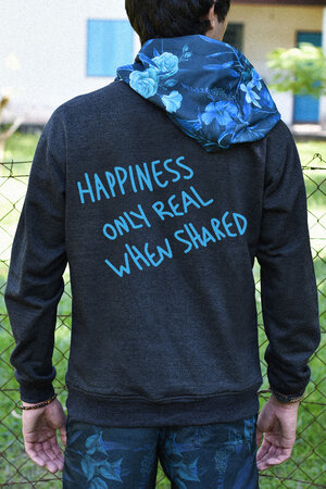 Moletom | Happiness Only Real When Shared