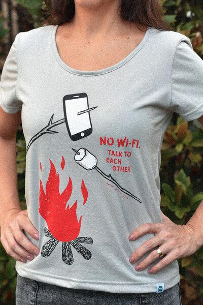 Tee | No Wi-Fi (Feminina)