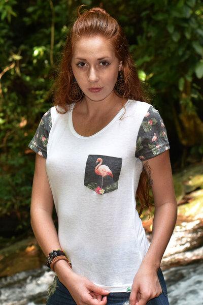 T-Shirt | Flamingo