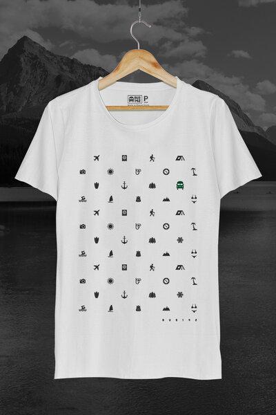 T-Shirt | Travel Icons