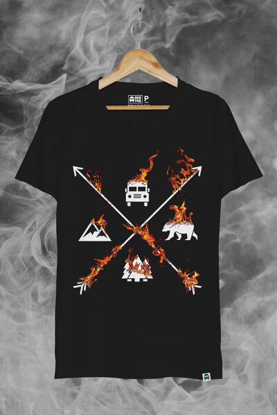 T-Shirt | Supertramp Fire