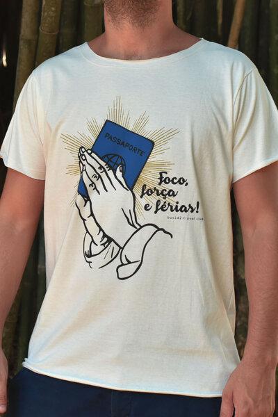 T-Shirt | Foco, Força e Férias