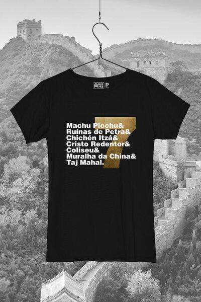T-Shirt   7 Maravilhas