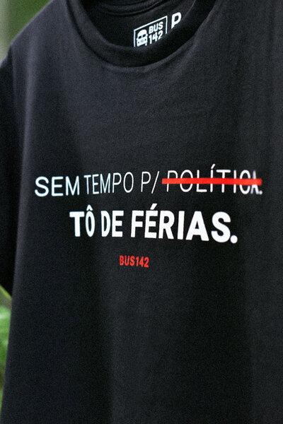 T-Shirt | Férias da Política