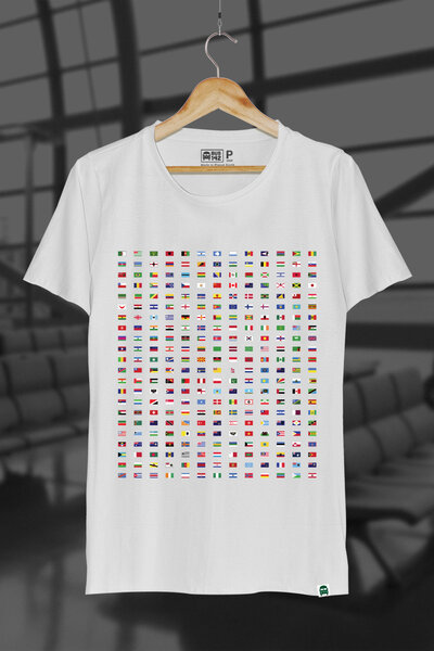T-Shirt | All Flags