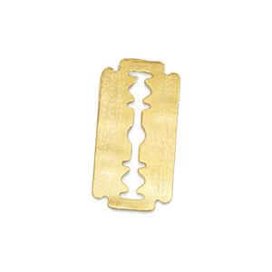 Pingente Navalha (gilete) Ouro