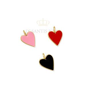 Pingente CHARM LOVE 1.5 cm (escolha a cor)