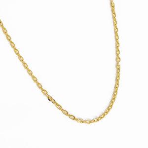 Choker Cartier Elo Oval SUPER DELICADA Ouro