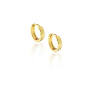 Argola e Piercing Basica Ouro 5mm