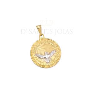Pingente divino espirito santo ouro 2cm