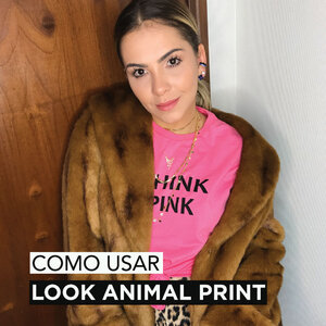 ANIMAL PRINT LOOK + COLARES DA MODA