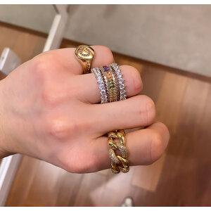Anel de Dedinho Inicial Ouro Regulavel (escolha sua letra)(anel ajustarem)