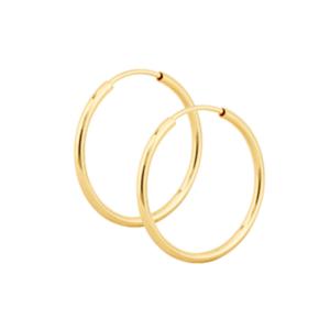 Argola Basica 3,5 cm Ouro