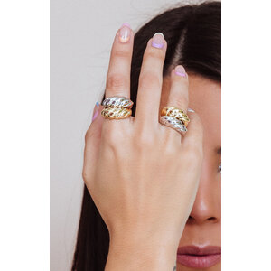Anel Caracol Ouro18k