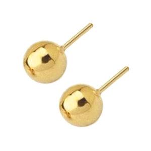 Brinco Botão Ouro 1 cm