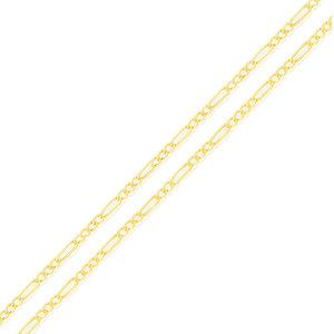 Corrente modelo Figaro DELICADA ouro