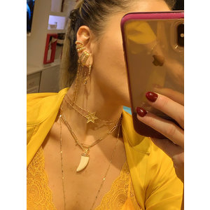 Brinco Ear Hook Grumet Ouro