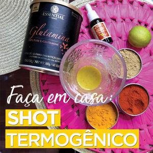 FAÇA EM CASA !! SHOT TERMOGÊNICO e para IMUNIDADE  #DICADADSANTIS