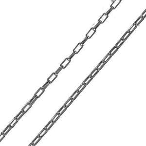 Colar corrente modelo Cartier delicada elo 0.5mm RODIO NEGRO