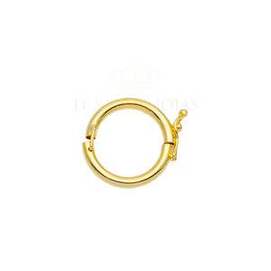 Fecho clip para pingentes ouro 18k
