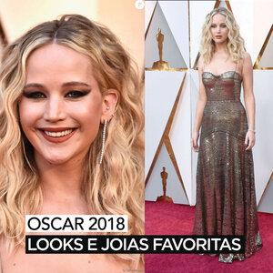 OSCAR 2018 | LOOKS E JOIAS FAVORITAS