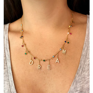 Colar DREAM Rainbow Ouro18k