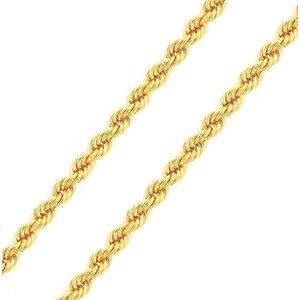 Colar Cordão Baiano Italiana 60cm Ouro18k