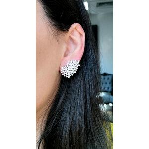 Ear Cuff Silvia Pontos de Luz Prata925
