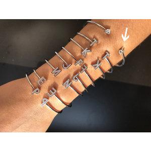 Bracelete Letra