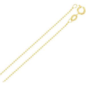 Colar Corrente Bolinhas SUPER DELICADA Ouro (escolha o tamanho)
