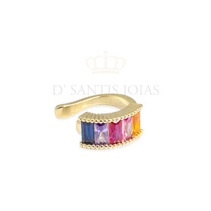 Piercing RAINBOW Ouro Baguetes