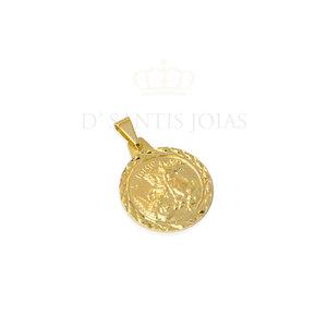 Pingente São Jorge Ouro