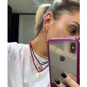 Piercing Cravação Inglesa Esmeralda Ouro