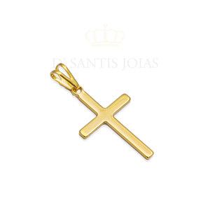 Pingente Cruz 2.5 cm Ouro