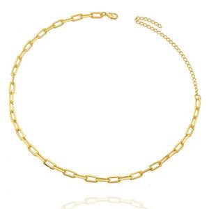 Choker Corrente Cartier Delicada Ouro