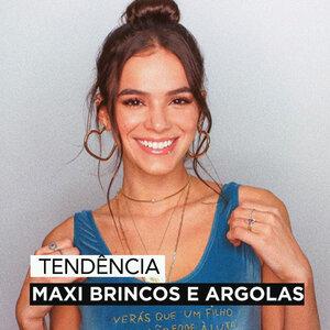 MAXI BRINCOS E ARGOLAS VOLTARAM!