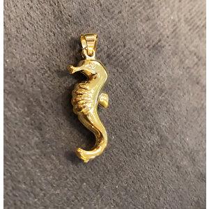 Pingente Cavalo Marinho ouro