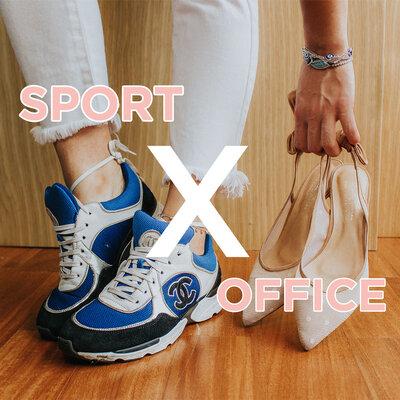 #TRANSFORMEOLOOK   OFFICE x SPORT