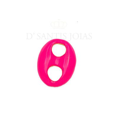 Pingente Sodacap minimalista Pink Neon