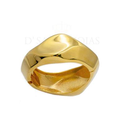 Bracelete Organico Articulado Ouro18k