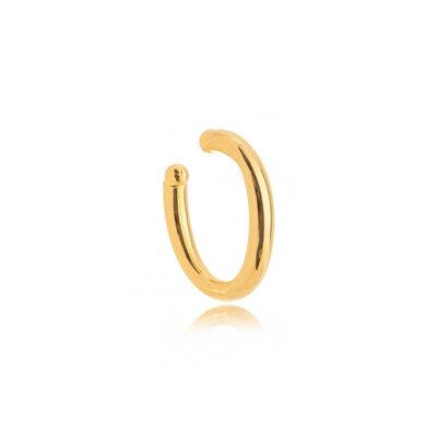 Ear hook Tubo de pressao Ouro