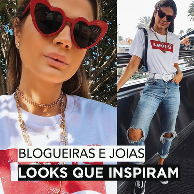 Blogueiras, Joias e Looks que inspiram !
