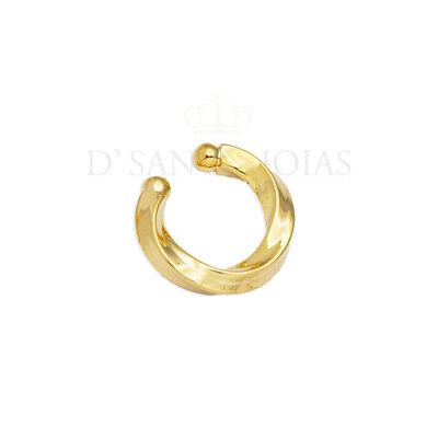 Piercing Tubo Torçao Ouro