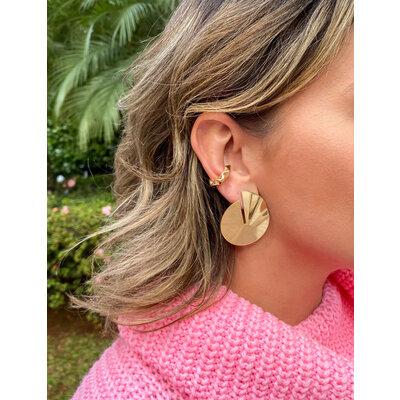 Piercing Organic Juliette Ouro18k (escolha o tamanho)